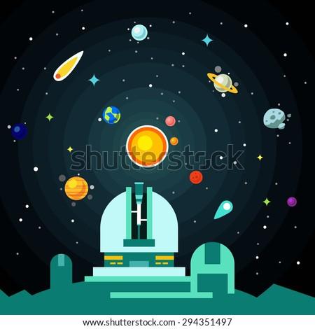 observatory station  solar