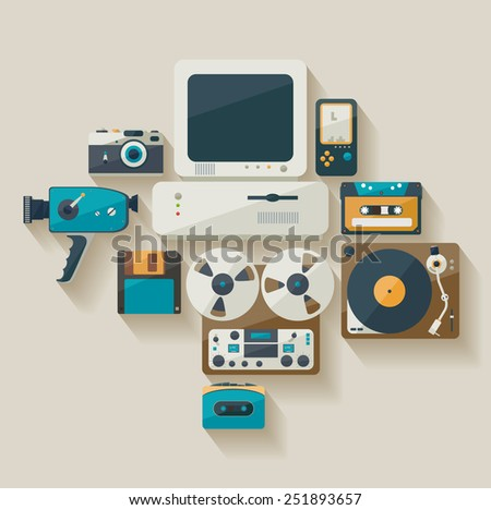 obsolete technology flat