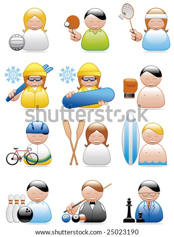 Occupation icons (sports)