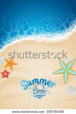 ocean and beach sand sea
