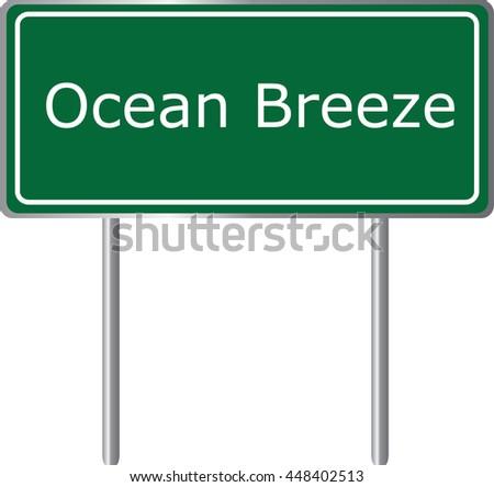 ocean breeze   florida  road