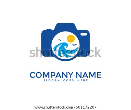 ocean photography logo design