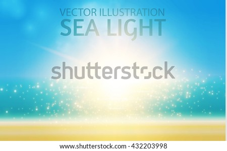 ocean sunrise shining sun  sea