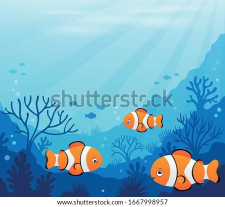 ocean underwater theme