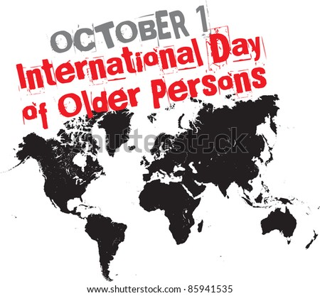 october 1 - international day of older persons