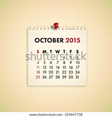 stock-vector-october-note-paper-calendar-vector