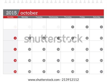 stock-vector-october-planning-calendar