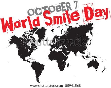 october 7 - world smile day