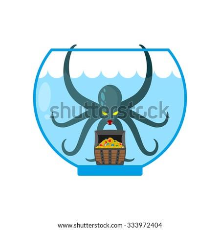 octopus in aquarium are