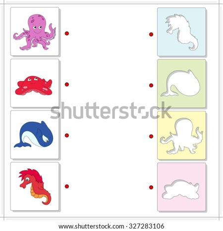 octopus  starfish  whale and