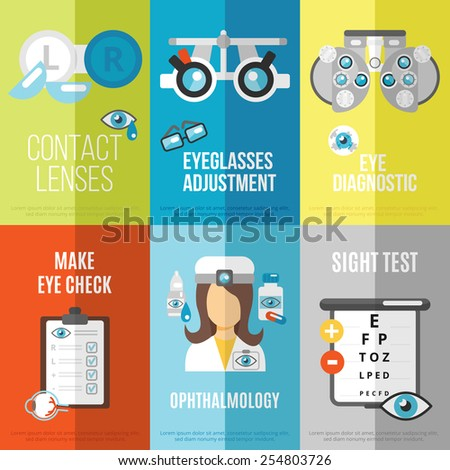 oculist mini poster set with