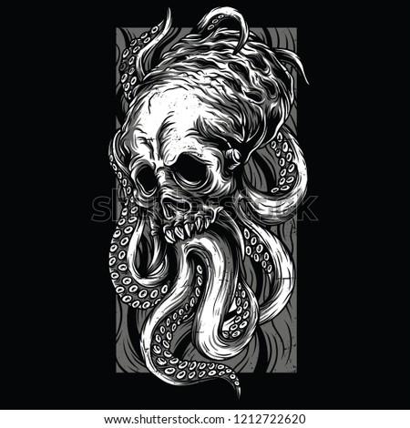 odd creature black and white