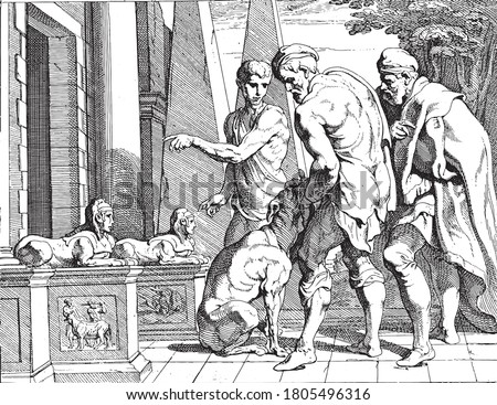 odysseus recognized by his dog