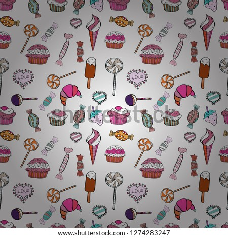 Cotton candy Random Royalty-Free Vectors | Imageric com