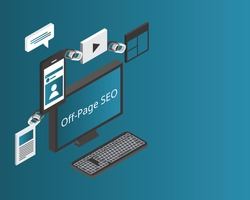 off-page SEO to raise the ranking of a page with search engines