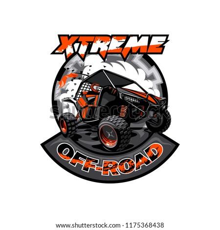 off road atv buggy logo