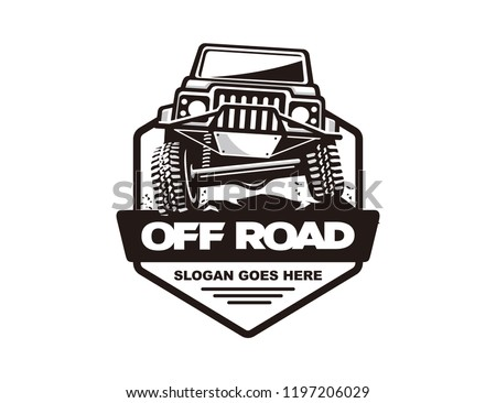Off Road Car Badge Vector Download Free Vector Art Stock Graphics