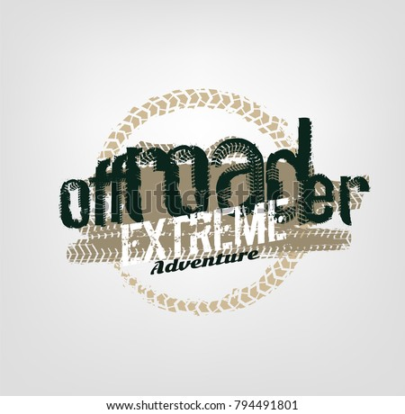 off road logo extreme