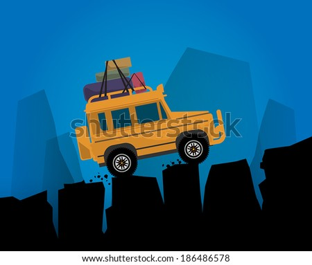 off road vehicle abstract