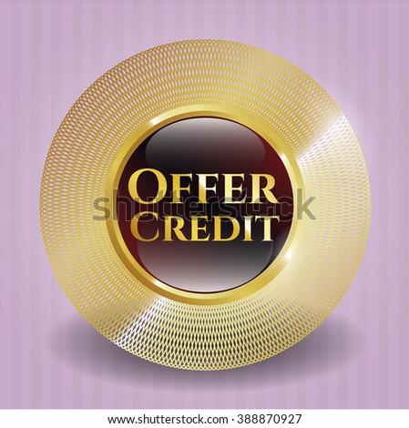 Offer Credit shiny badge
