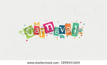 Offers Carnival, Brazilian Carnival, comercial, retail logo template