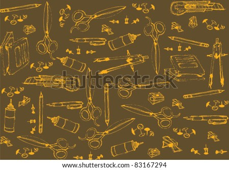 office accessories background