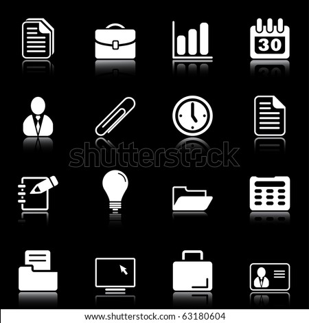 Office and business - professional icons for your website, application, or presentation