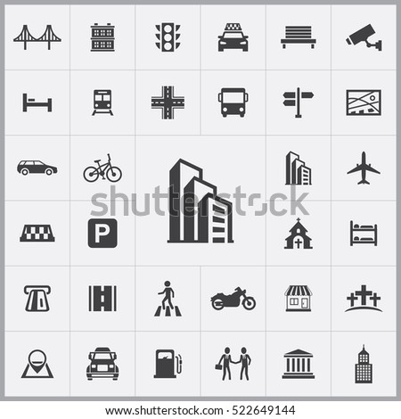 office building icon. city icons universal set for web and mobile