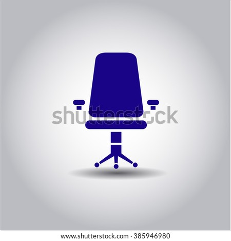 Office Chair high quality icon