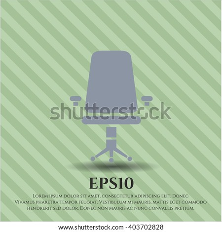 Office Chair icon or symbol