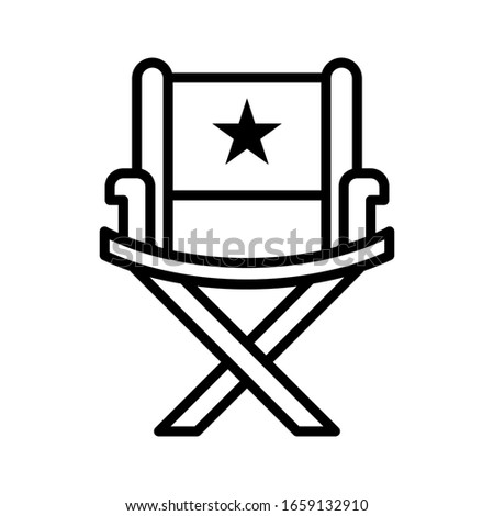 Office Chair Icon vector sign and symbol