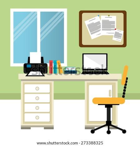 Royalty Free Flat Design Vector Illustration Of