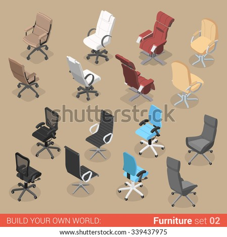 office furniture set 02 chair