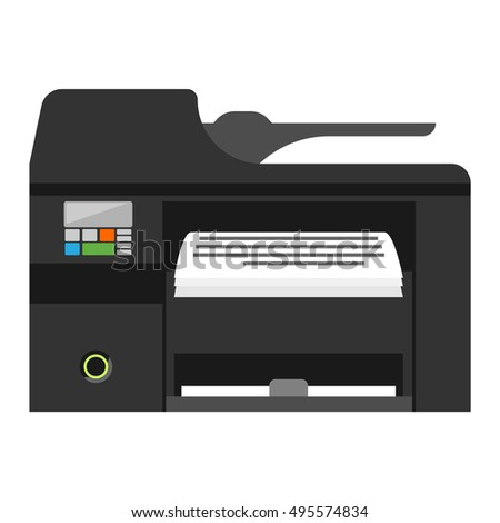 Office multifunction printer copy machine and copy machine paper office printer
