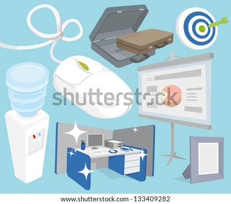 Office objects set