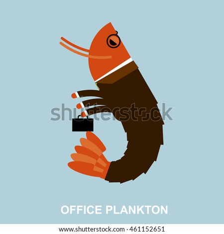 office plankton shrimp in
