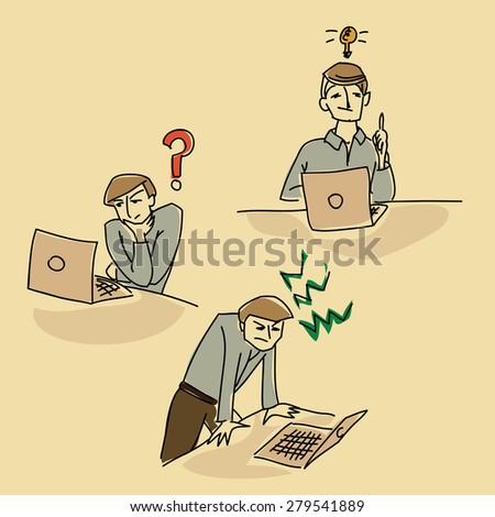 office question stress idea