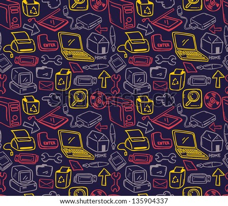 office supply background