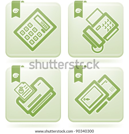 Office Supply Icons Set
