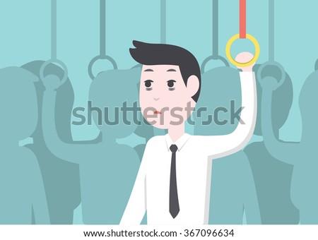 office worker businessman get