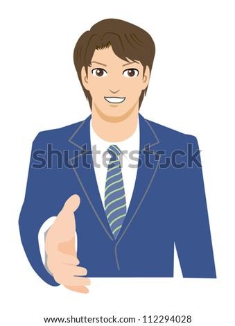 Office worker-Handshake