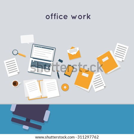 office workspace icon