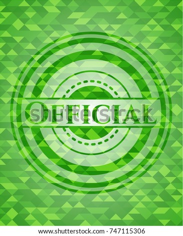 official green emblem with