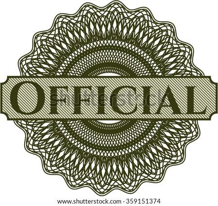 official rosette