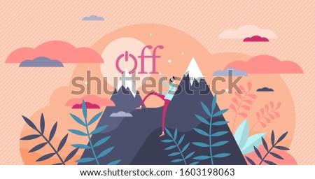 offline vector illustration