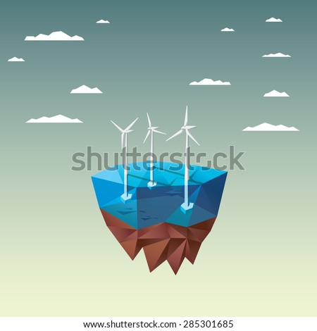offshore wind farm concept with