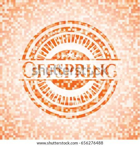 offspring abstract emblem