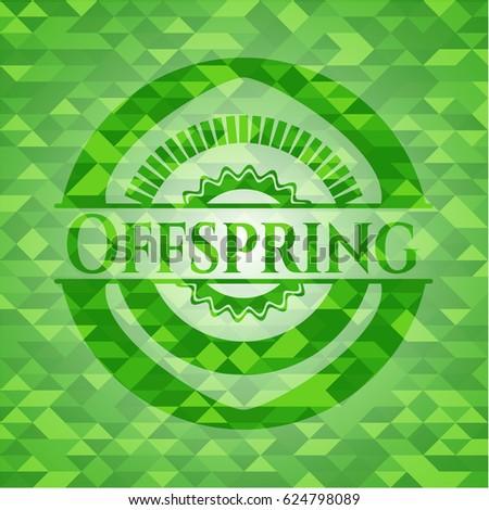 offspring green emblem mosaic