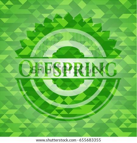 offspring green emblem with