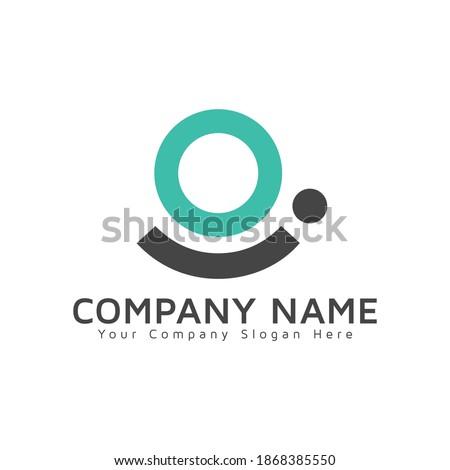OI or IO Letter Logo. Creative Modern Business Typography Vector OI Logo design. OI logo vector template design Foto stock ©